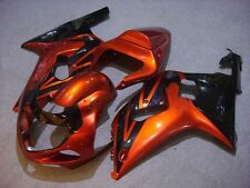 Orange Black Complete Injection Fairing for 2000-2002 Suzuki GSXR 1000 2001