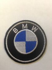 Iron On/ Sew On Embroidered Patch Badge Beamer B.M. Cicle Car Bike Logo
