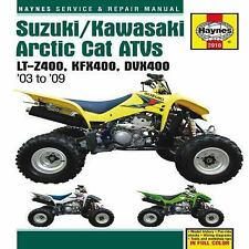 2003 2009 Suzuki Kawasaki Arctic Cat ATV Haynes Service Repair Shop Manual  2910