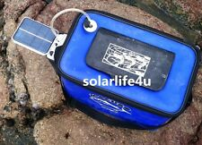 Solar Power Pond Oxygenator Air Pump Oxygen Pool fishpond fish tank fish New @US