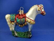 Arabian Horse Old World Christmas Ornament Glass Tree Animal NWT 12507
