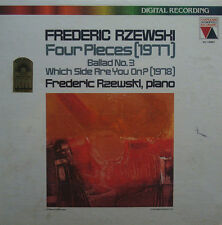 Rzewski: Four Piano Pieces + Ballade No. 3 - Vanguard VA - 25001 (DDD) (sealed)