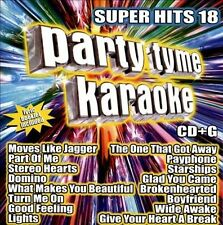 PARTY TYME KARAOKE CD - SUPER HITS VOL.18 (2012) - NEW UNOPENED