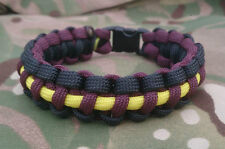 Prince of Wales Own Regiment Help for Heroes Inspired Paracord 550 Bracelet