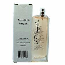 S.T DUPONT ESSENCE PURE POUR FEMME EAU DE TOILETTE SPRAY 100 ML / 3.3 OZ NEW (T)