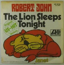 "7"" Single - Robert John - The Lion Sleeps Tonight - S941h - washed & cleaned"