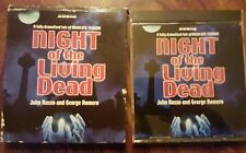 Rare night of living dead audio cd (original cast)(John Russo, Georges Romero)