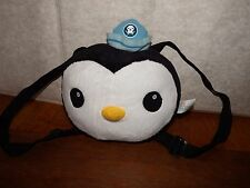 RARE Octonauts Peso penguin backpack bag rucksack character 3D soft plush toy