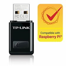 TP-Link TL-WN823N 300Mbps Wireless Mini USB Adapter One-Button Setup High Speed