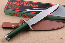 NEWEST ! RAMBO I FIRST BLOOD multi-function  6mm camping Survival Knife FK511