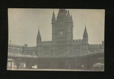 Gloucestershire BRISTOL Temple Meads Railway Station Midland Parcel 1905 RP PPC
