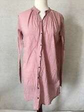 Day Birger et Mikkelsen Pink Tunic Dress Sz 34 EU 2 US Bohemian 100% Cotton