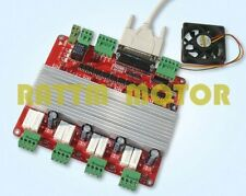 4 Axis TB6560 Stepper Motor Controller Board V Type High Speed for CNC Driver