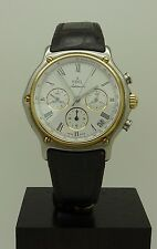 S.Steel / 18K  Gold Ebel 1911 Automatic Chronograph  Zenith El Primero Movement