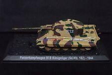 New 1/72 Diecast Tank German Pz.Kpfw.VI B King Tiger II 1944 Model Toy Soldiers
