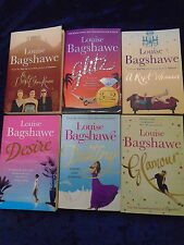 * 6 FABULOUS BOOKS by LOUISE BAGSHAWE * UK FREE POST * PAPERBACKS*