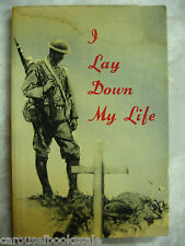 I Lay Down My Life Biography Joyce Kilmer by Harry Cargas pb 1964 A80