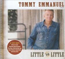 Little By Little by Tommy Emmanuel (CD, 2010, 2 Discs, Favored Nations...
