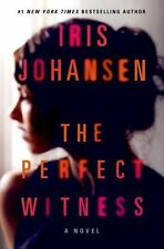 The Perfect Witness Iris Johansen (2014 Hardcover,DJ) 1st Edition Brand New Book