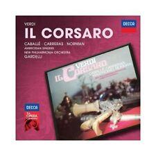 CABALLE/CARRERAS/NORMAN/GARDELLI/+ -  VERDI-IL CORSARO (DECCA OPERA) 2 CD NEU