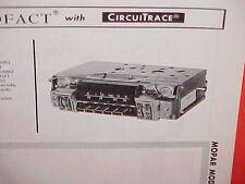 1967 CHRYSLER 300 PLYMOUTH BARRACUDA CUDA DODGE DART AM-FM RADIO SERVICE MANUAL