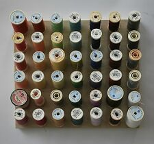 Cotton sewing thread storage spool holder sewing room wall organiser small size