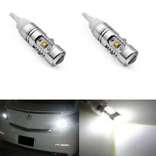 2Pcs High Power 25W T10 5-CREE Q5 LED bulbs Backup Reverse Lights 912 921 T15