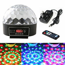 Stage Party Lighting Digital 6 LEDs DMX 512 Crystal Magic Ball Disco DJ Light US