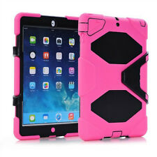 """""""Waterproof""""Case For iPad Mini 1/2/3 2/3/4 air 1/2 Shockproof Heavy Duty Stand"""