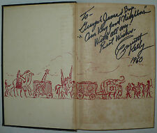 "RARE VINTAGE SIGNED AUTOGRAPH EMMETT KELLY BOOK "" CLOWN "" PUBLISHED 1956 LONDON"