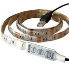 1m 5v USB 5050 LED Strip RGB / Colour Changing for TV PC Backlight Moodlight