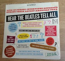"LP US The Beatles ""Hear the Beatles tell all""  comme NEUF"