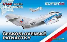 Eduard 1/144 Model Kit 4441 Mikoyan MiG-15 DUAL COMBO