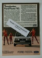 Bombardeados/advertisement a5: trendsetter ford fiesta'82 1981 (021016134)