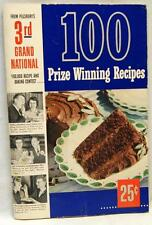 PILLSBURY'S 3rd GRAND NATIONAL WINNING RECIPES BROCHURE BOOKLET 1952 VINTAGE