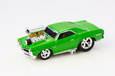 Funline Muscle Machines Green Pontiac GTO Diecast Car
