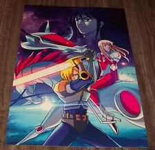 Saber Rider and the Star Sheriffs Anime Manga NYCC 2016 Art Poster Print NEW