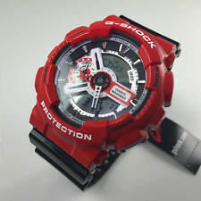 Casio G-Shock Red and Black Ana-Digi Sports Watch GA110RD-4A