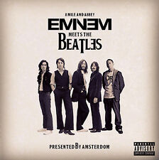 EMINEM MEETS THE BEATLES 8 Mile & Abbey Mixtape CD New FREE SHIPPING