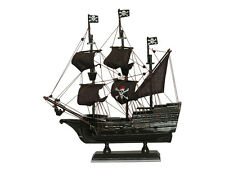 Pirate Model Ship Large Wooden Model Boat, Nautical Pirates Gift