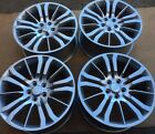 """SET OF FOUR 20"""" x9.5"""" WHEELS RIMS for LAND RANGE ROVER HSE SPORT LR4 SILVER NEW"""