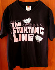 STARTING LINE tee pop punk youth med T shirt size 10-12 baby chicks OG rock