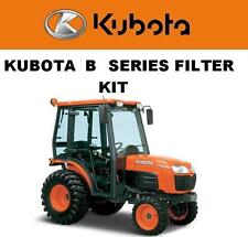 Kubota B3000 B3030 B3200 B7800 B2910 B2710 HSD HST Filter Maintenance Kit OEM