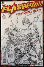 Flashpoint #5 (DC,2011) 1:25 Andy Kubert Sketch Variant HIGH GRADE!! (NM)