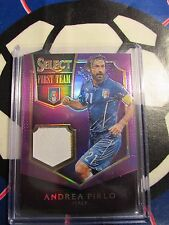 PANINI SELECT SOCCER 2015 ANDREA PIRLO FIRST TEAM ITALY 15/25 PURPLE 3-COLOR