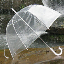 New Bubble Dome Shaped Clear See-through Rain Transparent Umbrella No Trim US