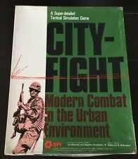 SPI -  City-Fight - Modern Combat i the Urban Environment - UNPUNCHED - 1979