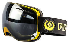 NEW 2016 Dragon X1S Goggles-Gigi Black-Blue Steel+Yellow Red-SAME DAY SHIPPING!