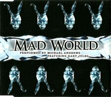 Michael Andrews Featuring Gary Jules Maxi CD Mad World - Vol.1 - England