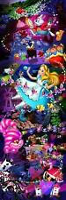 NEW Tenyo Japan Jigsaw Puzzle DG-456-715 Disney Alice in Wonderland 456 Pieces